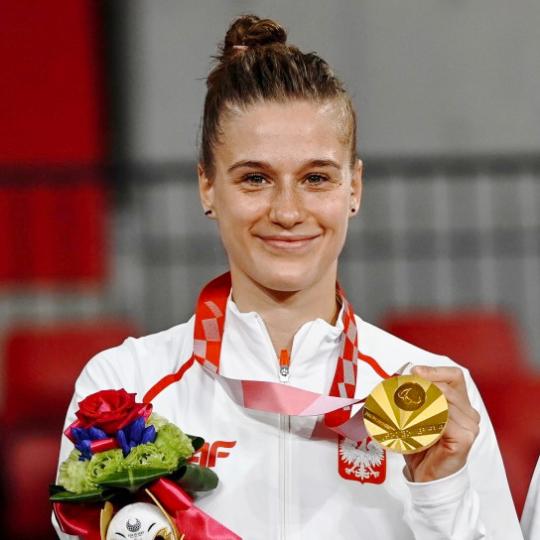 złoty medal Natalii Partyki